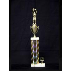 "19"" Column Trophy"